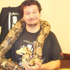 Me and a snake