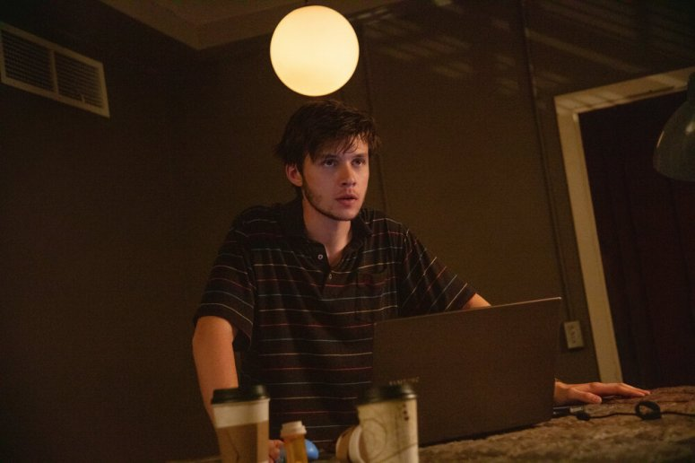 Nick Robinson as Ross Ulbricht in Silk Road. Photo Credit: Catherine Kanavy