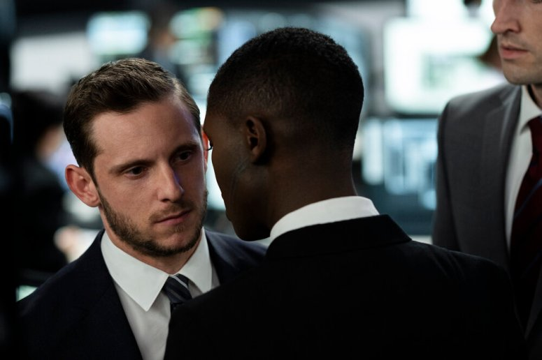 Jamie Bell and Jodie Turner-Smith star in WITHOUT REMORSE Photo: Nadja Klier © 2020 Paramount Pictures