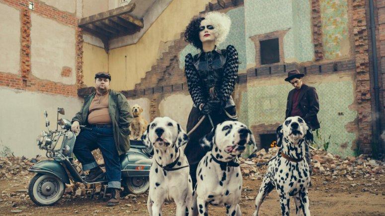 Emma Stone as Cruella in Disney's live-action CRUELLA.