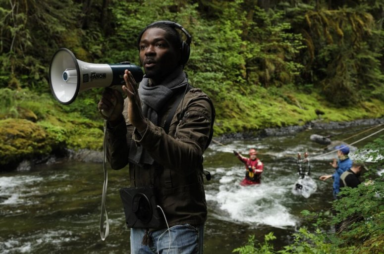 """Actor-director David Oyelowo directs a scene on location for the adventure/drama """"The Water Man,"""" the film with which Oyelowo makes his directorial debut. (Photo courtesy of Karen Ballard)"""